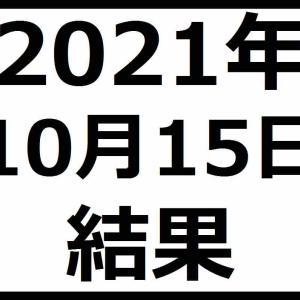 2021年10月15日結果 半導体相場が再来?日経平均株価は29,000円超え