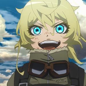 幼女戦記のアニメを見始めました!皆さんはアニメから入る派?マンガから入る派?