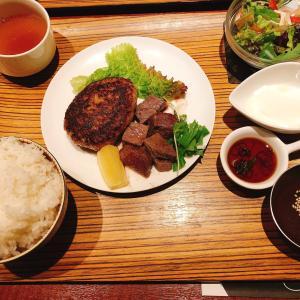 【京都ちょっぴり贅沢ランチ】京都ぽーく100%!肉汁が止まらない絶品ハンバーグを堪能!
