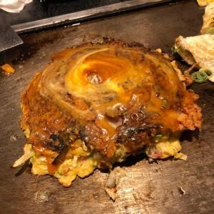【大阪食い倒れツアー】ミナミで食べられる美味しいお好み焼き「味乃家 」へ