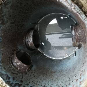 下水排水の逆勾配