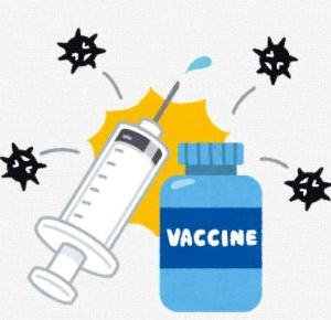 8.77歳 コロナワクチン接種中の様子(父と娘の時間 その1)