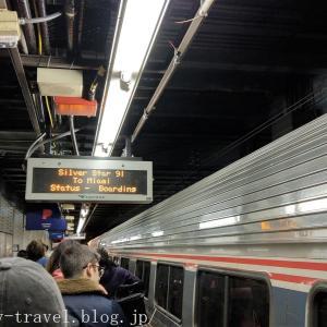フィラデルフィア旅行記1 アムトラックに乗ってニューヨークからフィラデルフィアへ移動