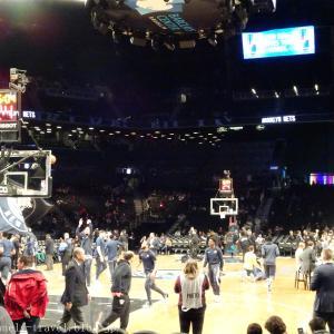 ニューヨーク旅行記8 【NBA現地観戦】ペイサーズVSネッツ@バークレイズ・センター(前半編)