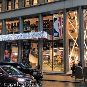 ニューヨーク旅行記4 NBA Storeに行ったけど何も買いませんでした