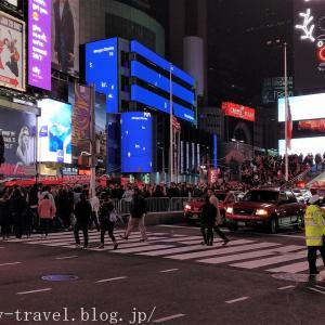 ニューヨーク旅行記10 クリスマスイルミネーションが凄いマンハッタンの夜