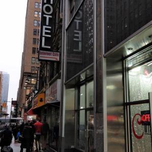 ニューヨーク旅行記5 宿泊したホテル「マンハッタン ブロードウェー バジェット ホテル(Doxie Hotel)」