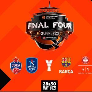 EUROLEAGUE BASKETBALL(ユーロリーグ)20-21 ファイナル4@ケルン プレビューと予想