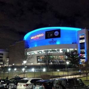 フィラデルフィア旅行記4 【NBA現地観戦】ラプターズVSシクサーズ@ウエルス・ファーゴ・センター(前半編)