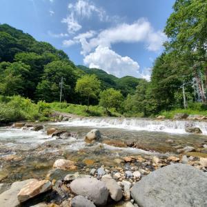 【岐阜高原キャンプ】川遊びに公園も!涼しく遊べるカクレハ高原キャンプ場
