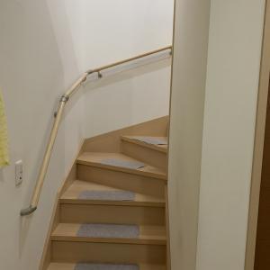 家の中に階段があるというのが憧れだったが・・・