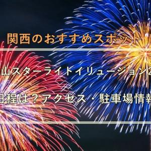和歌山スターライトイリュージョン2021の日程は?アクセス・駐車場情報