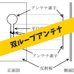 双ループアンテナの構成、特性