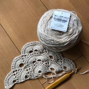バイラス編みのストール