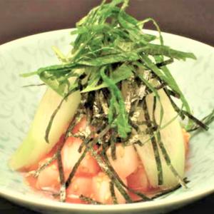 おいしい仕組み(33)長芋の梅肉和え、こういう食べ物はフィリピンはない