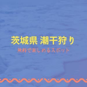 潮干狩り茨城県内おすすめはどこ?2021年無料で蛤やあさりが採れるスポットは?