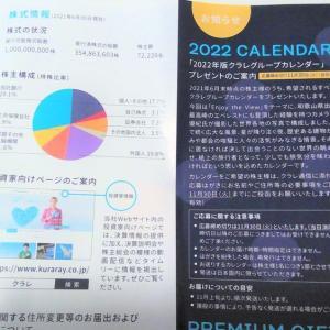 【プレゼントの案内到着】カレンダー:クラレ(3405)・2021年6月分