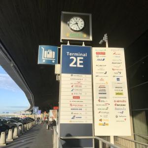 いよいよお別れの日。「パリCDG空港」の現状をお伝えします!!!