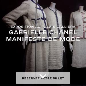 [Gabrielle Chanel]のエキスポジションが再開★圧巻のドレスをご賞味あれ!!!