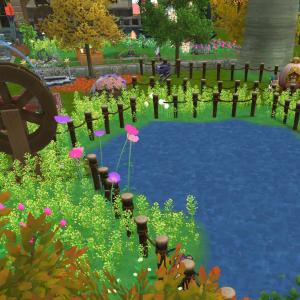 池を作りました
