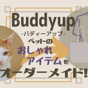 【Buddyupバディーアップ】ペットのおしゃれアイテムをオーダーメイド!!