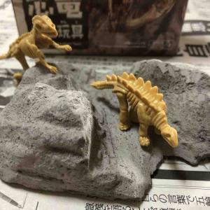 【100均】「恐竜化石玩具」を掘ってみる
