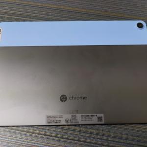 Chromebookを1ヶ月使った感想【Ideapad Duet】