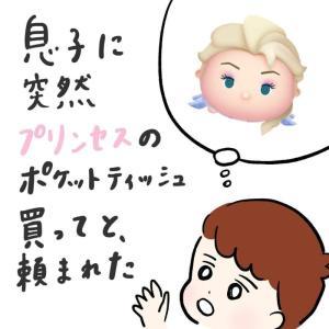 【プリンセスの買って!】息子のティッシュがどんどん減る可愛い理由