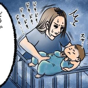 なかなか寝てくれない新生児にも!意外な方法で背中スイッチを攻略!