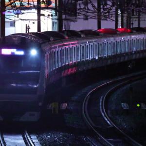 [JR埼京線]カーブアングルで闇鉄 E233系