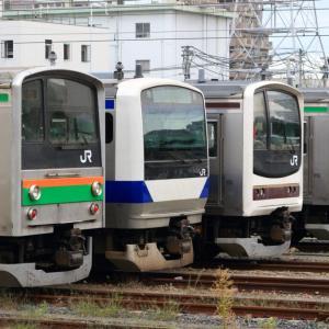 [宇都宮線]205系とE531系 ローカル区間の電車