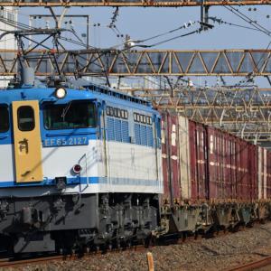 [貨物列車]EF65-2127ー全般検査明け直後