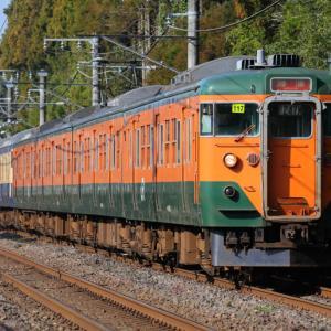 [リバイバル]湘南色113系+スカ色113系の外房線普通列車