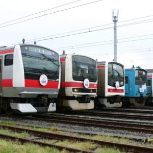 [京葉線20周年]京葉車両センター一般公開展示 E233系・209系・205系・201系・E331系