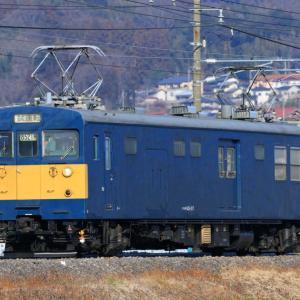 [カッター運用]クモヤ145-107「高崎車両センター」上越線・吾妻線