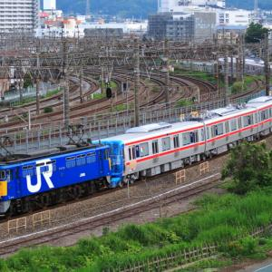 [甲種輸送]EF65-1059+TX-2000系 日立製作所出場 2008年