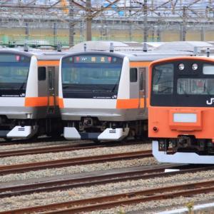 [豊田車両センター]201系&E233系-中央線の電車