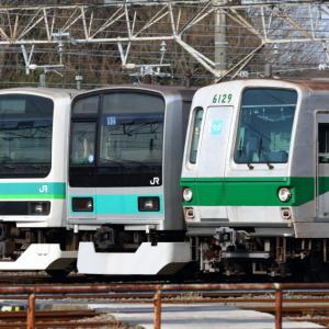 [常磐線]E231系・209系・東京メトロ6000系