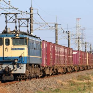 [成田線]EF65-2119牽引貨物列車