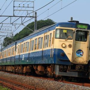 [普通列車]113系成田線 さよならヘッドマーク付