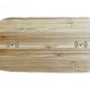 Qi充電器でお洒落な製品といればコレ!竹製のナチュラルな雰囲気のQi充電器を提案します