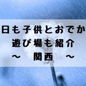 雨の日も子供とおでかけ♪遊び場も紹介|関西