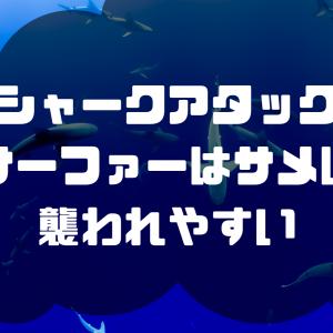 【シャークアタック】サーファーはサメに襲われやすい