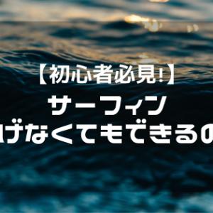 【重要】初心者にこそ見てほしい!泳げなくてもサーフィンってできるの?