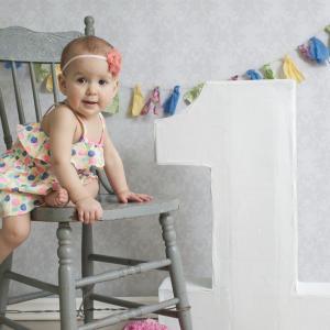 【1歳女の子 誕生日】デコレーション(飾り付け)編【おうちで記念撮影♪ 絶対おすすめ】