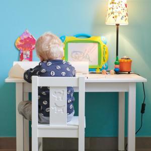 【キッズデスク】お子さんの机と椅子のサイズ合ってますか?幼児学習机選びは難しい【ワークスペース】