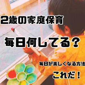 【2歳の家庭保育】毎日何してる?幼稚園入園まで長すぎる・・・【毎日が楽しくなる方法はこれだ!】