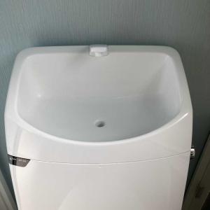 """わが家のトイレ事情""""手洗器と収納""""編"""