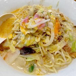 リンガーハット・イオンタウン武富店で、ラー油マシマシの『長崎ちゃんぽん 麺2倍』を食べてきた