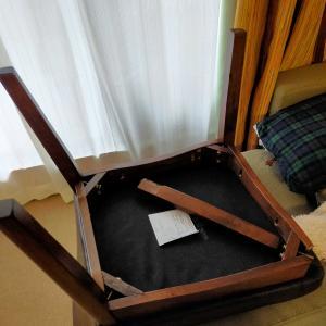 椅子の脚って、折れる!?